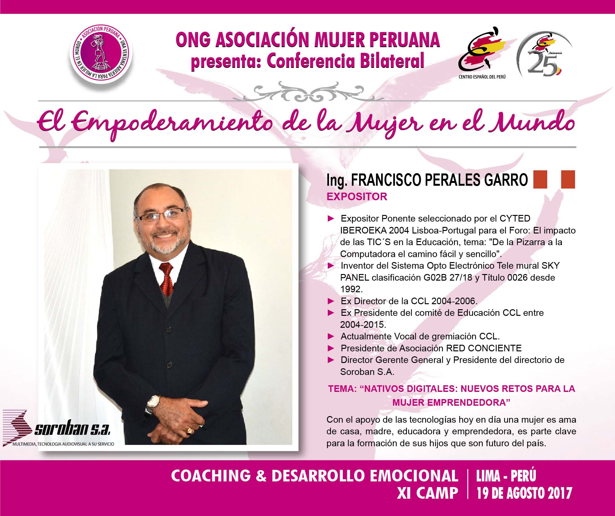 Expositor Francisco Perales