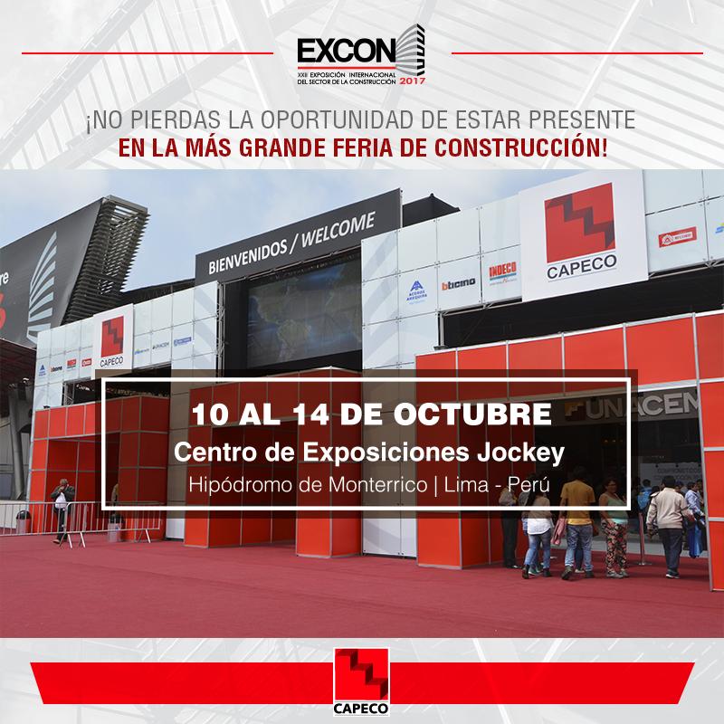 EXCON 2017 – XXII Exposición Internacional del Sector de la Construcción
