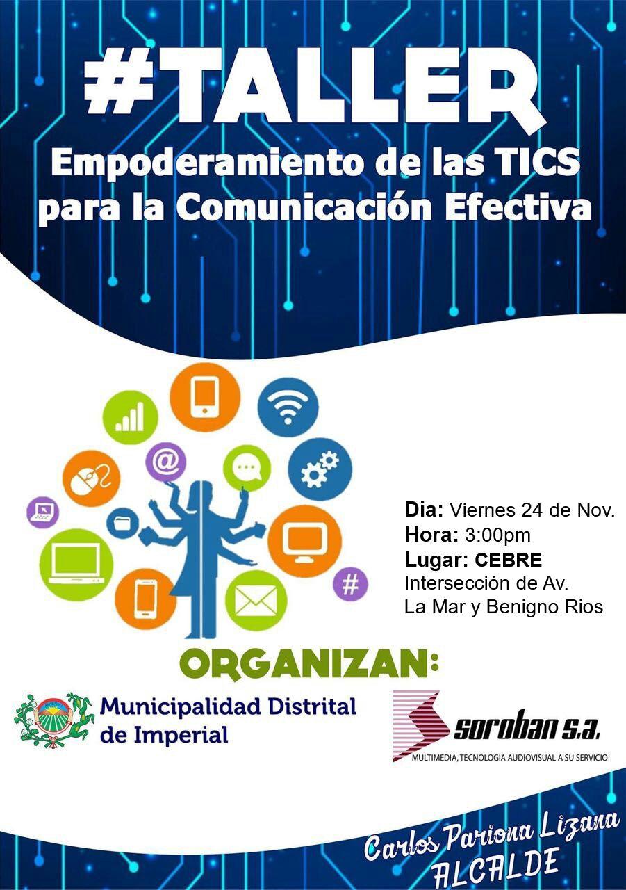 I Taller de Empoderamiento de las TIC's para la Comunicación Efectiva