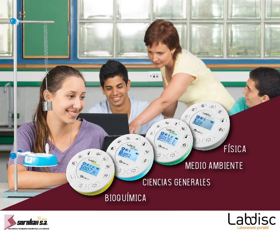 Laboratorios Portátiles Labdisc. Único y Autónomo