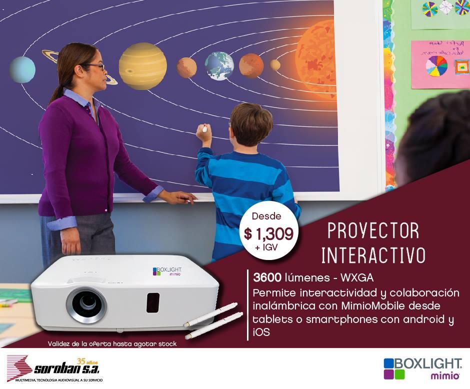 Boxlight P9: Proyectores Interactivos Para la Educación
