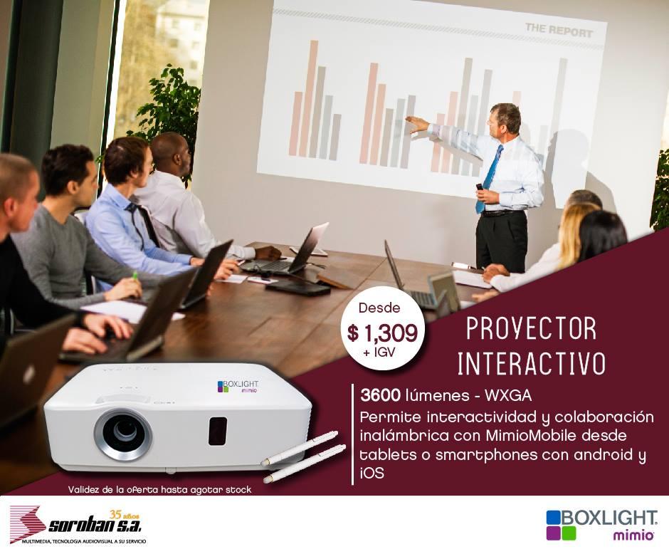 Boxlight P9: Proyectores Interactivos Para Empresas