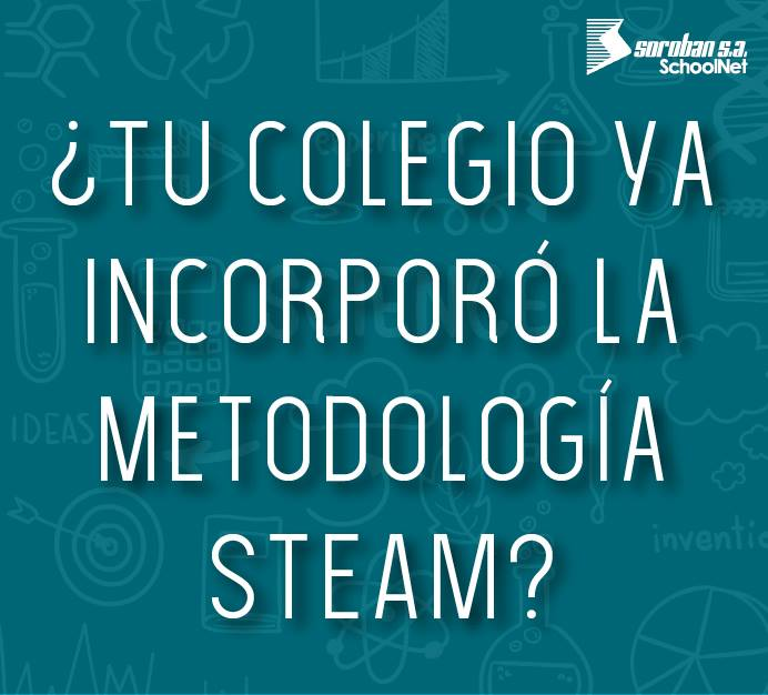 ¿Tu colegio ya incorporó STEAM?