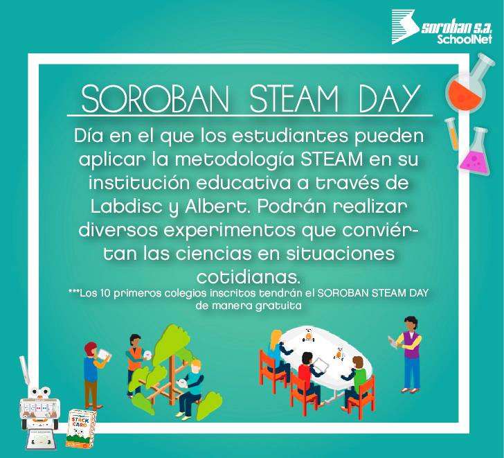 SOROBAN STEAM DAY 2018