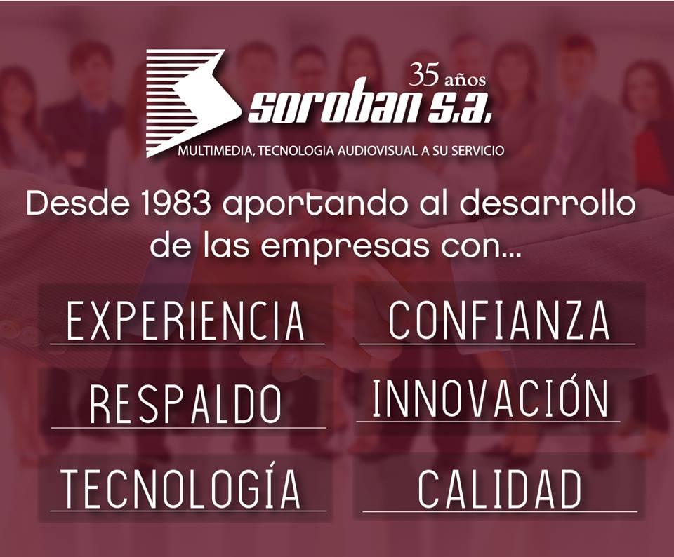 SOROBAN: Desde 1983 Aportando al Desarrollo de las Empresas!