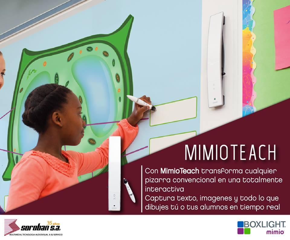 MimioTeach: Pizarra Interactiva Inalámbrica y Móvil