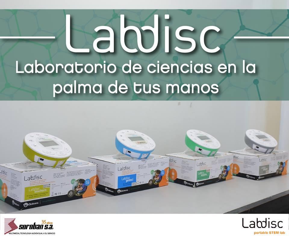 Labdisc: Recolector de Datos Sin Tener Que Usar Un Computador