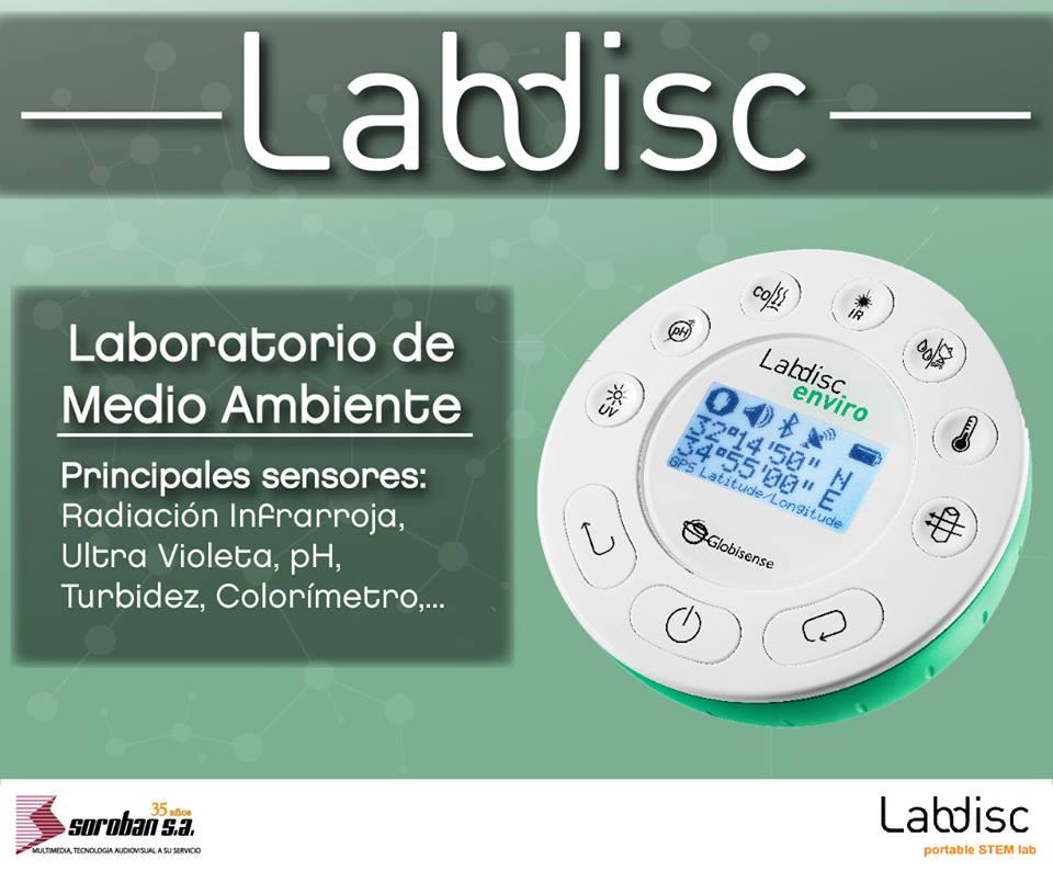 Labdisc Enviro: Laboratorios Portátiles de Medio Ambiente