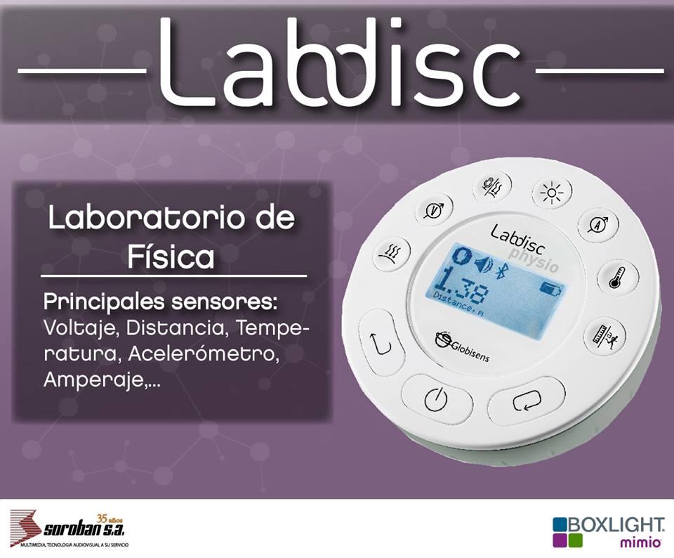 Labdisc Physio: Laboratorios Portátiles de Física