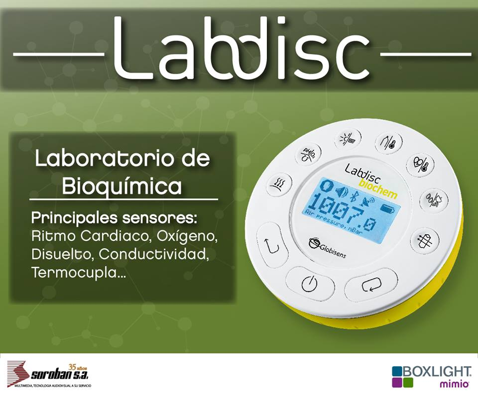Labdisc Biochem: Laboratorios Portátiles de Biología y Química