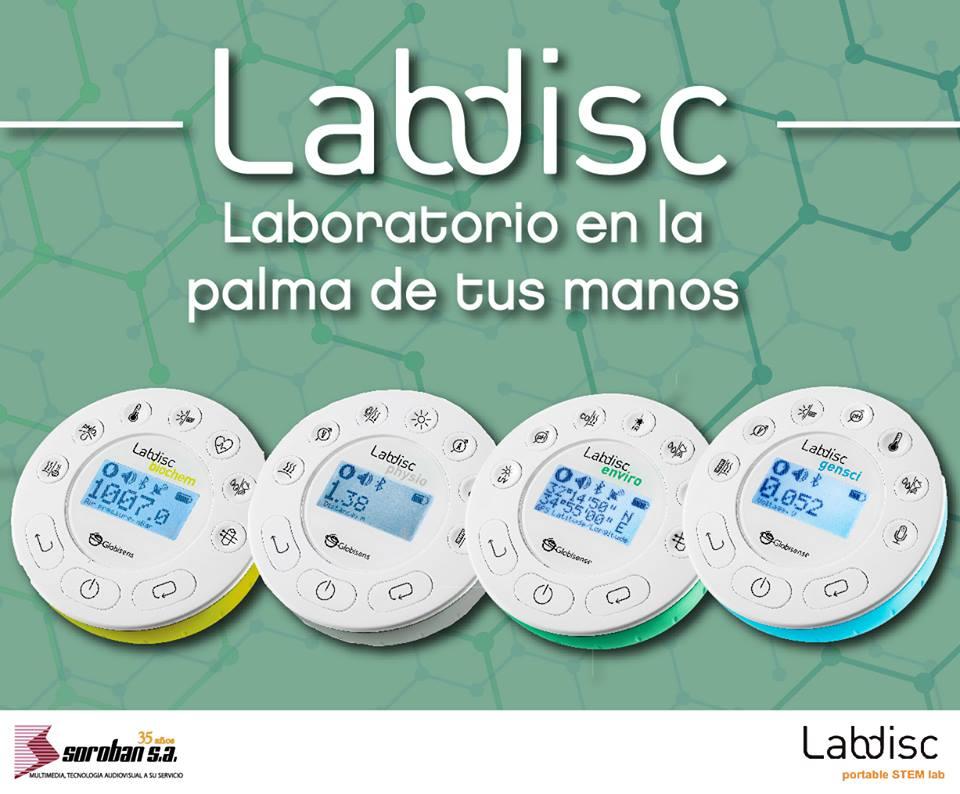 Labdisc: Laboratorio en la palma de tus manos