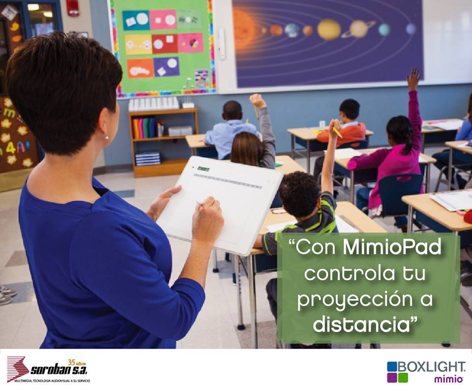 Controla tu Proyector a Distancia con MimioPad