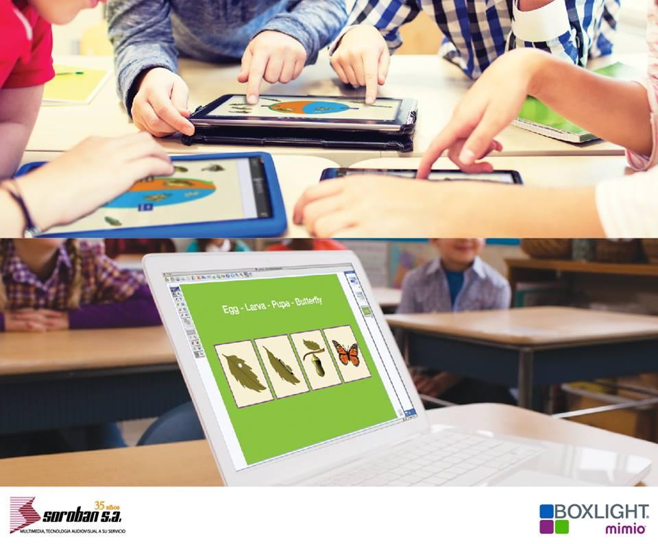 Soporte Pedagógico para Docentes con MimioStudio y MimioConnect