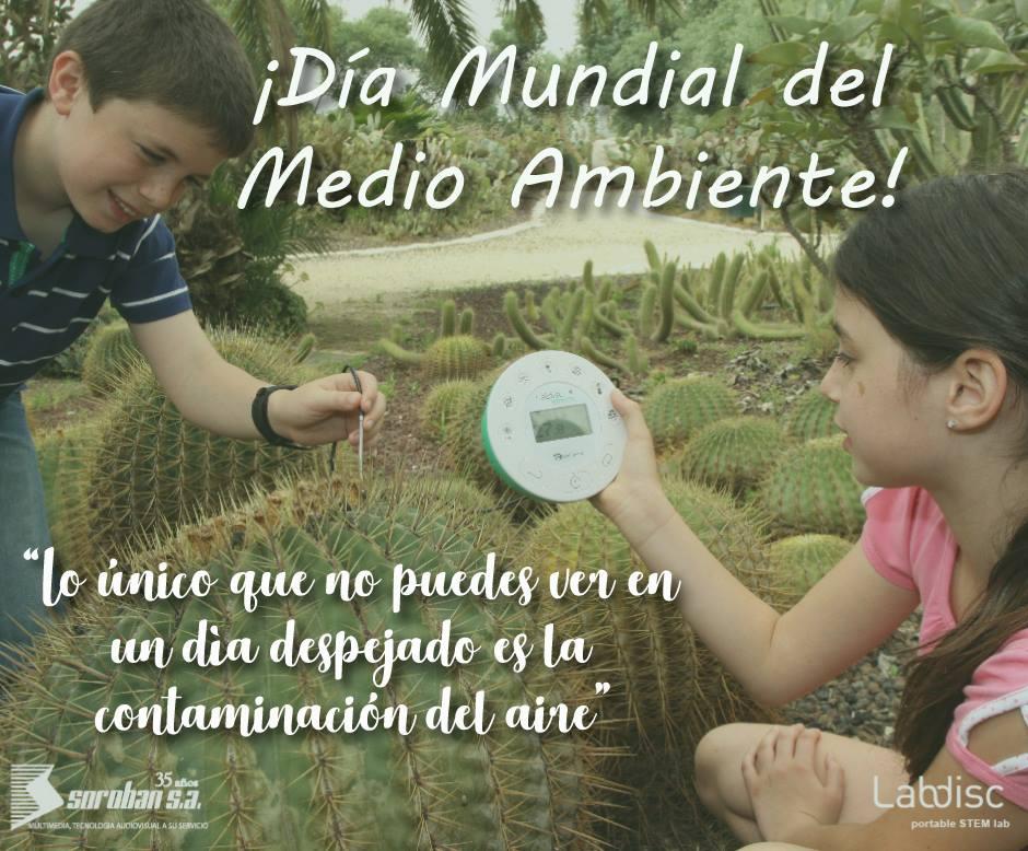 Labdisc en el Día Mundial del Ambiente