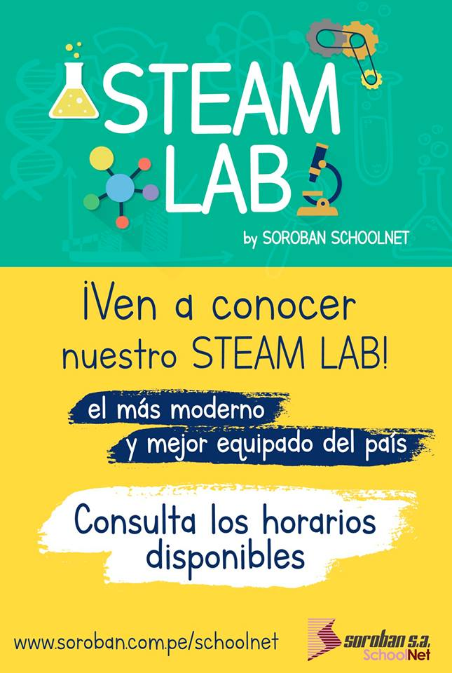 Invitación a Soroban SchoolNet STEAM LAB