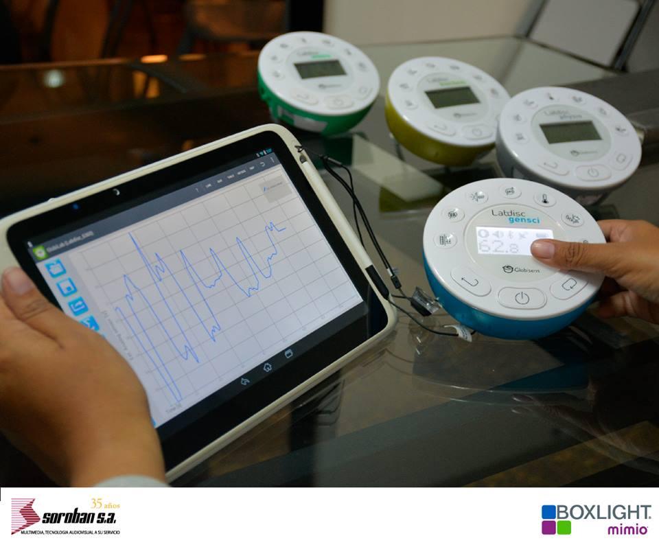 Globilab: Software de Análisis de Datos Recolectados con los Sensores Labdisc