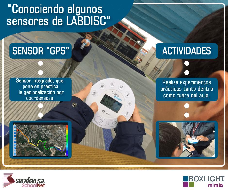 Conociendo algunos Sensores de LabDisc: SENSOR GPS