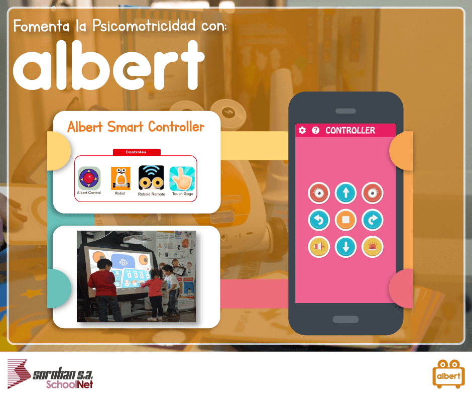 Cómo Albert Smart Robot fomenta la psicomotricidad fina