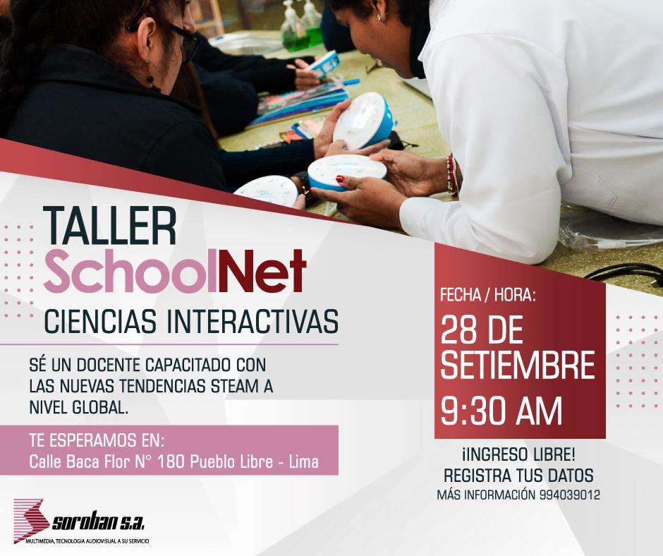 """Taller SchoolNet """"Ciencias Interactivas"""""""