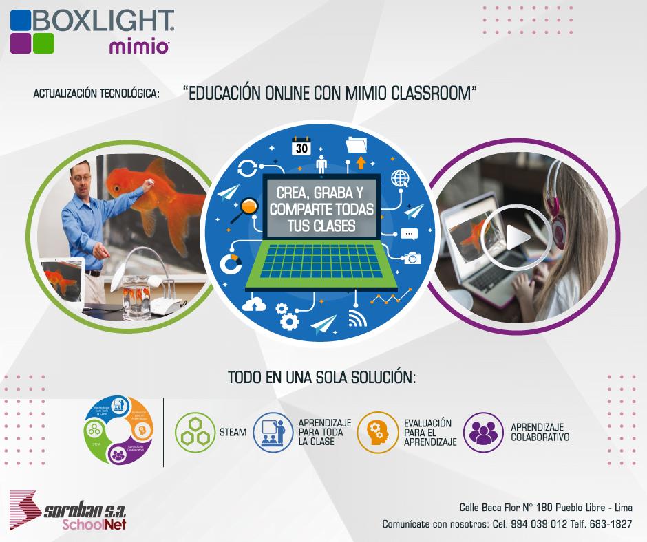 Educación Online Con MimioClassroom