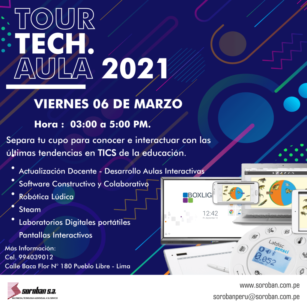 TOUR TECH AULA 2021