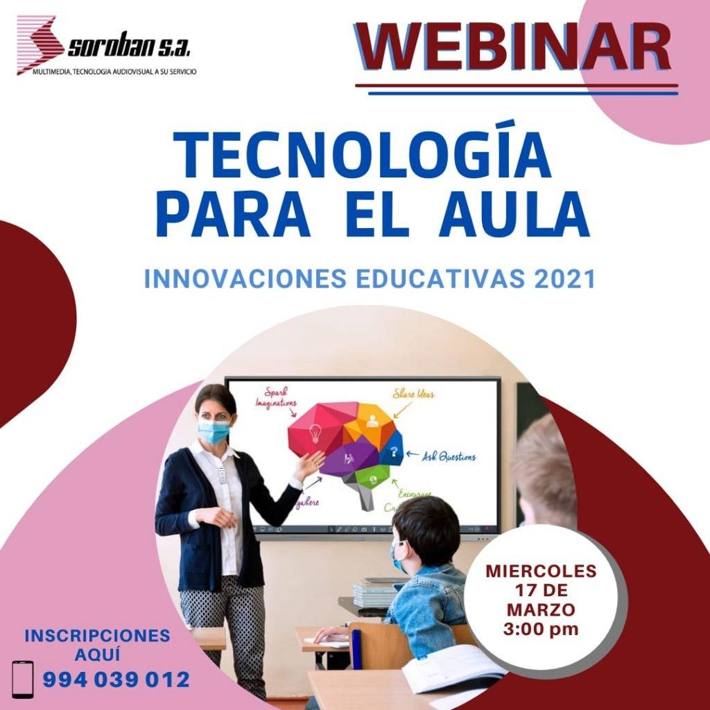 Webinar: Tecnología para el aula