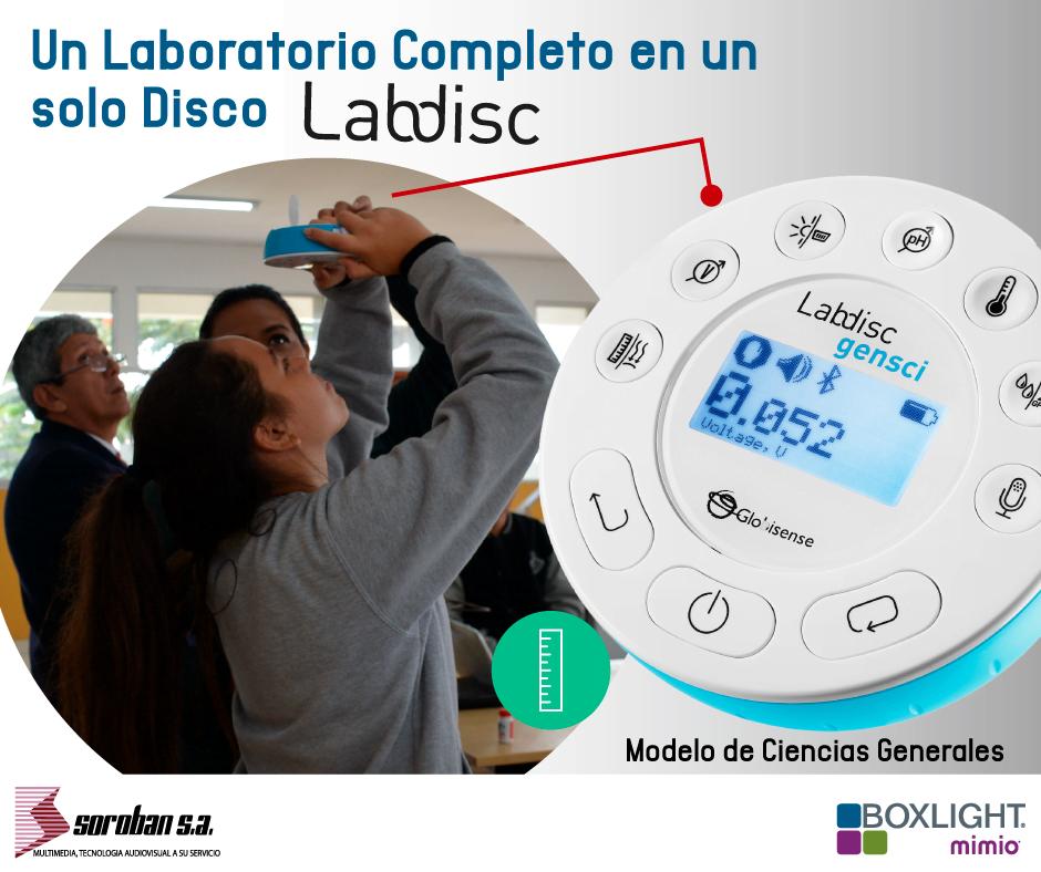 Aprendizaje vivencial con Labdisc