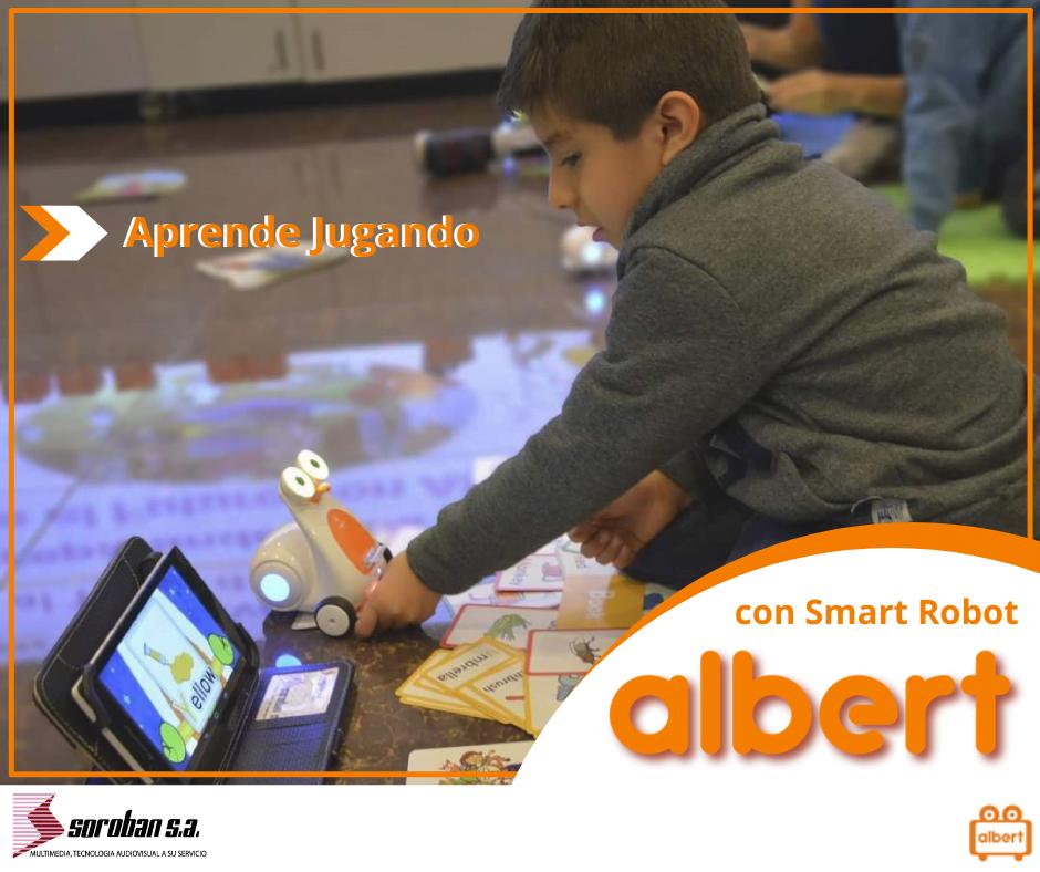 La educación de tu hijo con Albert Smart Robot