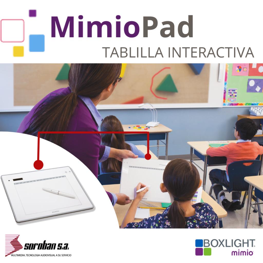 Aprendizaje colaborativo con MimioPad