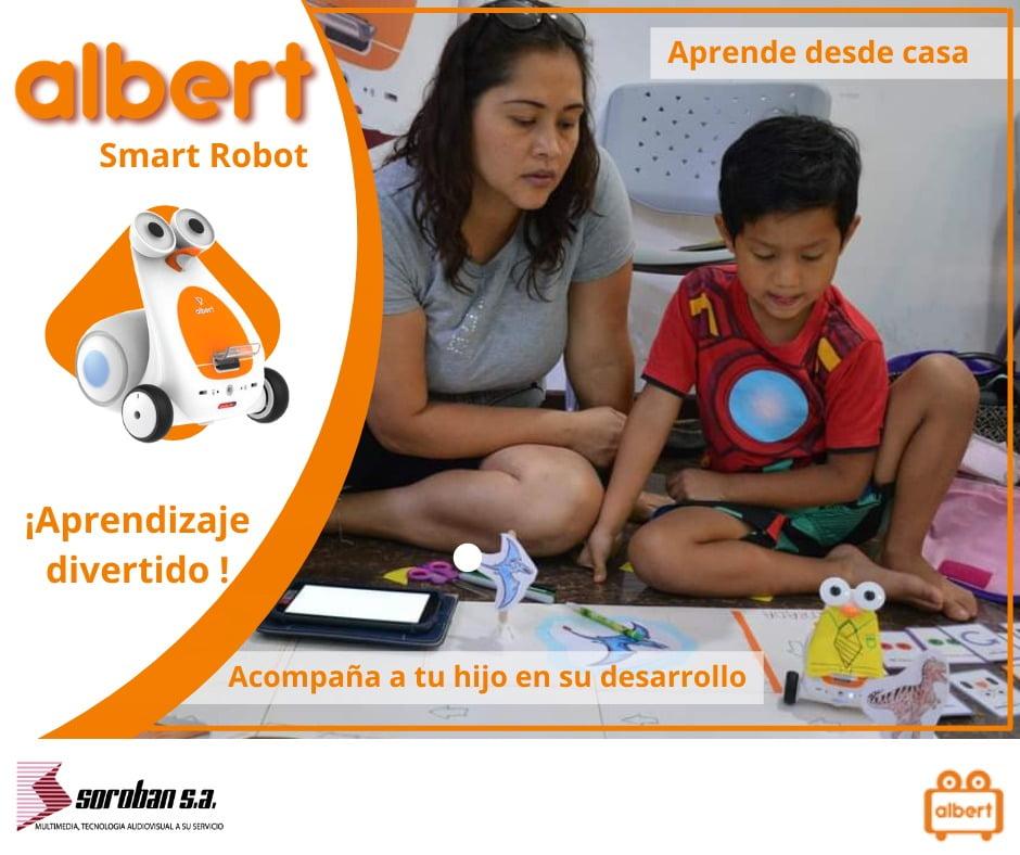 La Gamificación con Albert Smart Robot