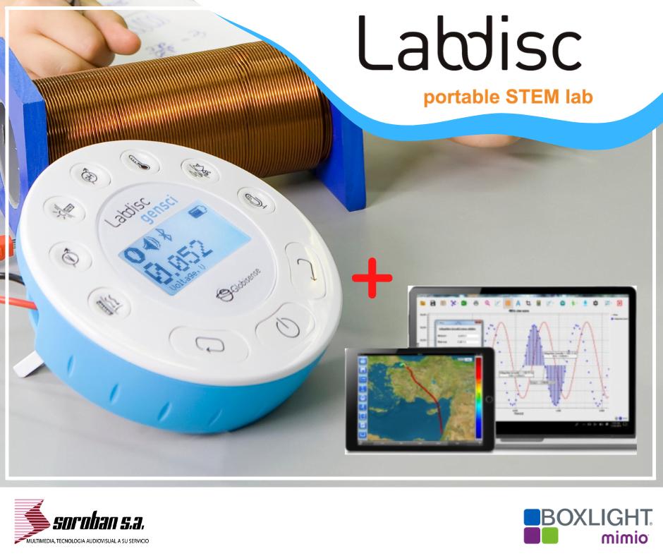 Laboratorio de ciencias portátil – Labdisc