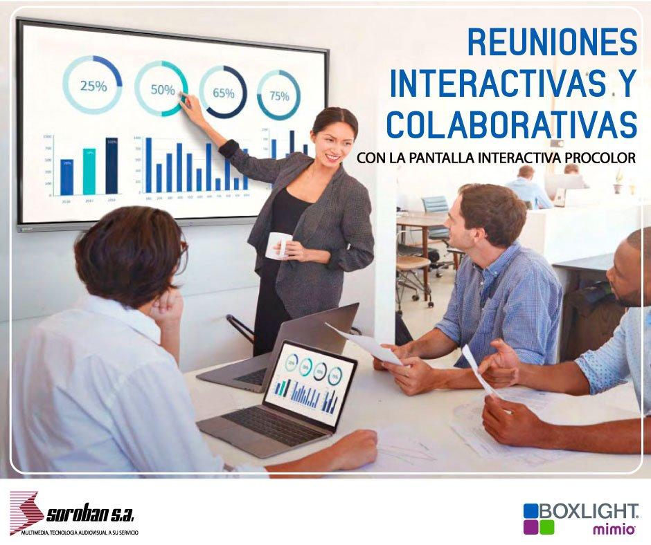 Reuniones interactivas y colaborativas