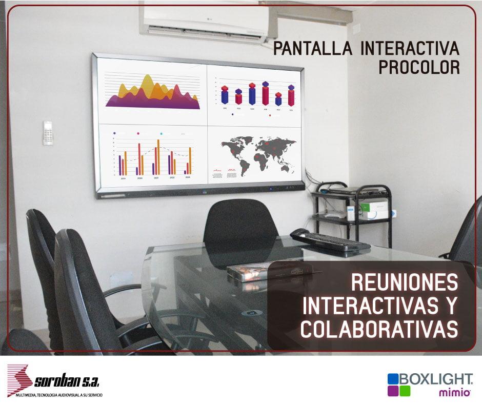 Colaboración, productividad y eficiencia en 4k