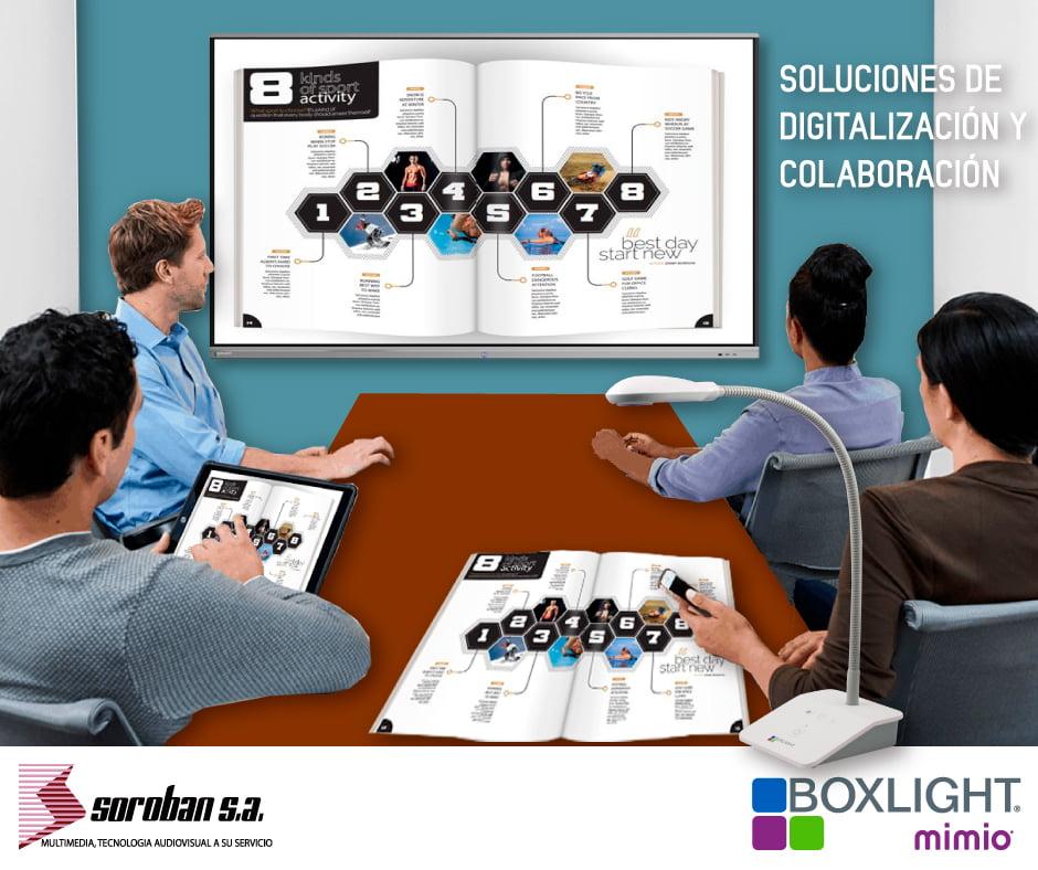 Soluciones de digitalización y colaboración